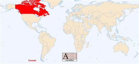 map of the world canada world atlas the sovereign states of the world canada