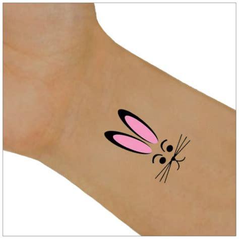 24 cute rabbit wrist tattoos