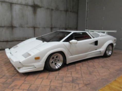 White Lamborghini Countach For Sale 1989 Lamborghini Countach 25th Anniversary For Sale