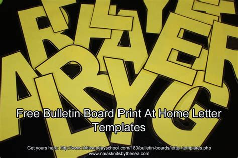 templates for bulletin boards free letter templates and other bulletin board goodies