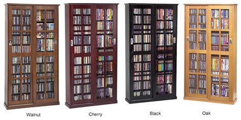 sliding door dvd storage cabinet sliding glass door 700 cd 336 dvd storage cabinet new