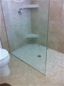 shower enclosures without doors walk in shower without door bathroom ideas