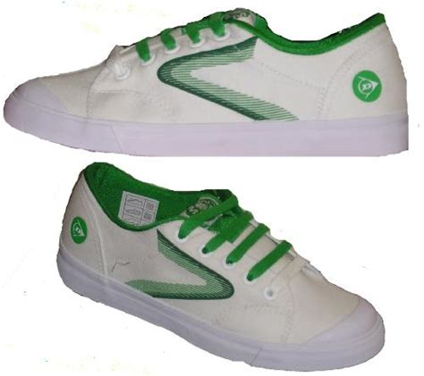 flash  dunlop  greenflash trainers