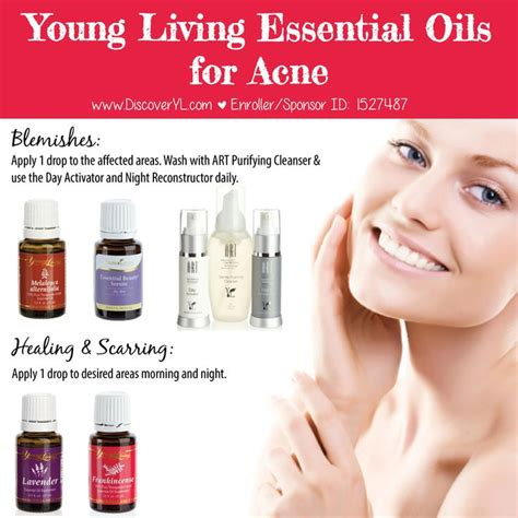 Treating Acne With Essential Oils by Living Essential Oils For Acne Essential Oils
