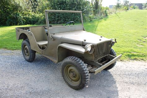 Bantam Jeep Sold Military Classic Vehicles