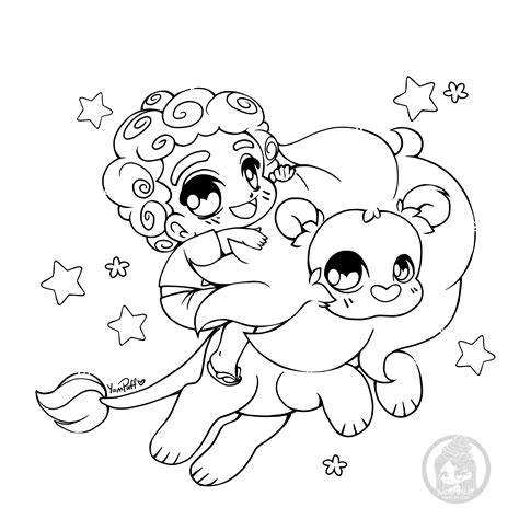 yuff s stuff a kawaii coloring book of chibis and books fanart free chibi colouring pages yuff s stuff