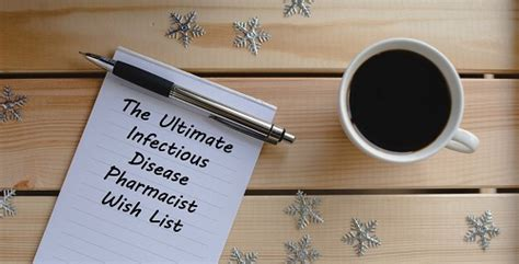 Infectious Disease Pharmacist by The Ultimate Infectious Disease Pharmacist Wish List