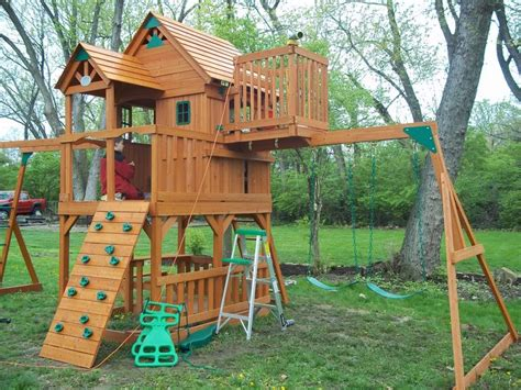best outdoor swing sets 17 best images about swingset makeover on pinterest