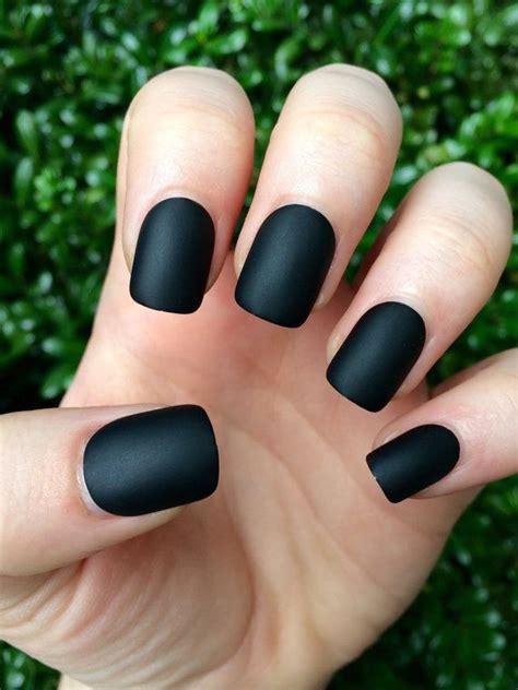 nail color for african women best 25 matte black nails ideas on pinterest matt nails