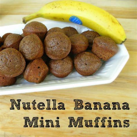 nutella banana mini muffins nutella muffins nutella baking nutella recipes kerryannmorgan com