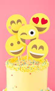 emoji party cake a subtle revelry