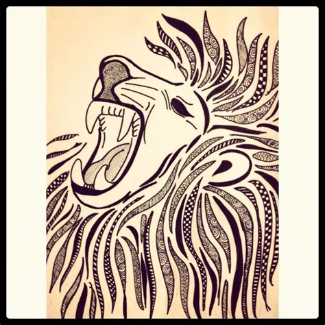 zentangle lion pattern 58 best art i images on pinterest paisajes sunrises and