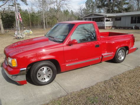 is cadillac chevy 1994 chevy silverado stepside converted to a