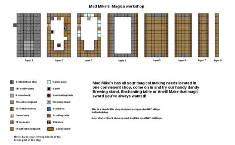 minecraft floor plan maker mad mikes magica shop minecraft floorplan by coltcoyote on