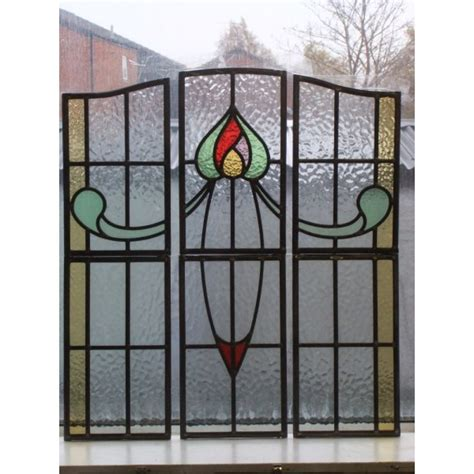 stained glass panels 077 1930 s stained glass panel