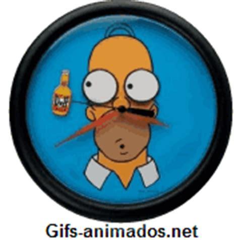 imagenes gif reloj homer simpsons rel 243 gio gifs animados exclusivos original