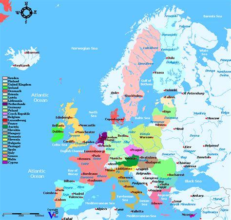 european union map european union