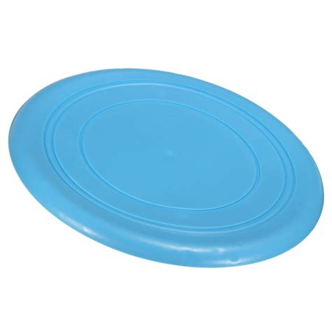 Pet Rubber Blue Intl soft silicone rubber pet puppy outdoor frisbee fetch