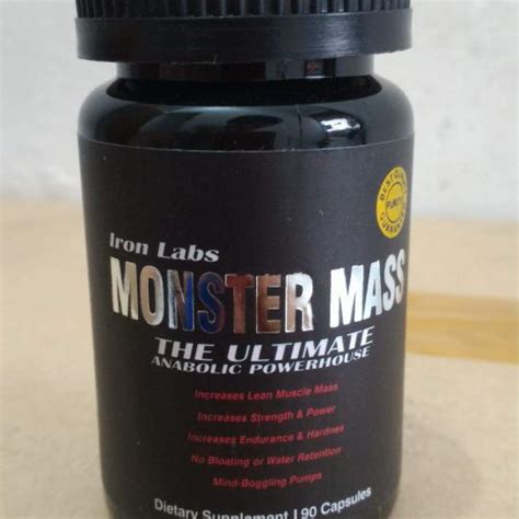 iron labs mass 90 capsules fit station