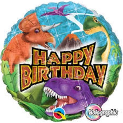 Foil Hbd dinosaur happy birthday foil balloon themed