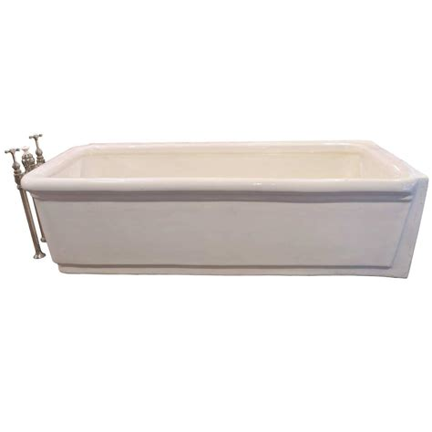 Porcelain Bathtubs by Pristine Porcelain Bathtub With Original Nickel Plated