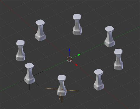 blender 3d array empty plain axes rotation by modeling multiple array modifiers and object offset