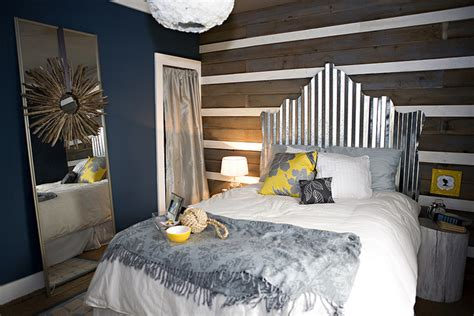 Sheet Metal Headboard by Recycled And Repurposed Headboards For Your Bedroom