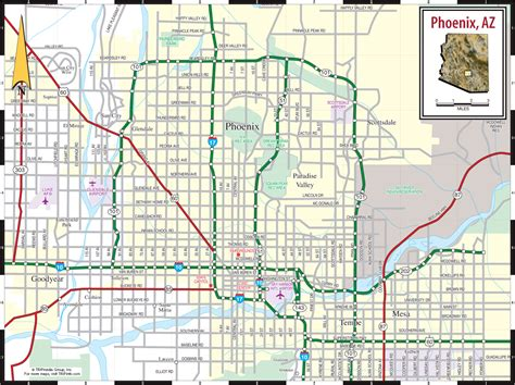 zip code map of phoenix map of phoenix travelsmaps com