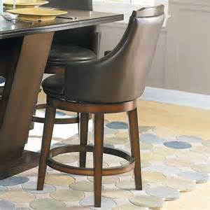 Transitional Dining Room Furniture Homelegance Bayshore Swivel Counter Height Stool In Oak