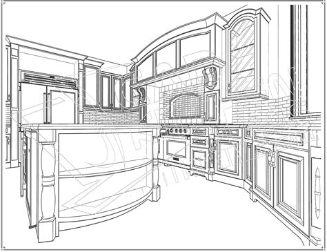 autocad for kitchen design common kitchen layouts with astonishing outcome home ideas