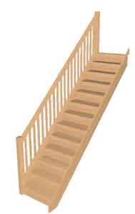 Price Of Stairs by Oak Staircases Made To Size Low Online Prices Straight