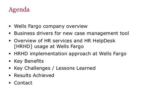 wells fargo help desk oracle open world 2012 hr help desk presentation wells