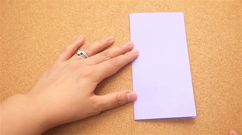 Fold Paper In Half - how to fold paper in half 5 steps with pictures wikihow