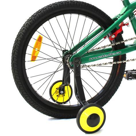 buy kids bicycle bike training wheels 20 quot pc 960a quot cd
