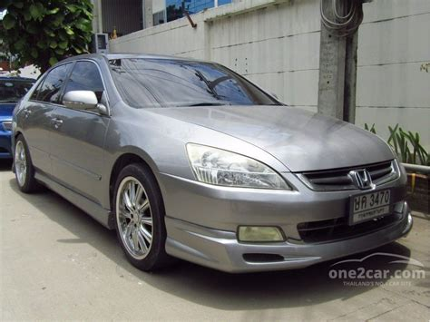 honda accord coupe v6 2003 more new cars no more cars honda accord 2003 v6 i vtec 3 0 in กร งเทพและปร มณฑล automatic sedan ส เทา for 290 000 baht