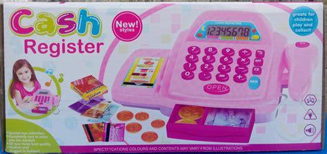 Jual Mainan Mesin Kasir Register Mainan Kasir Kasiran mainan mesin kasir dan ada uangnya setelan bayi