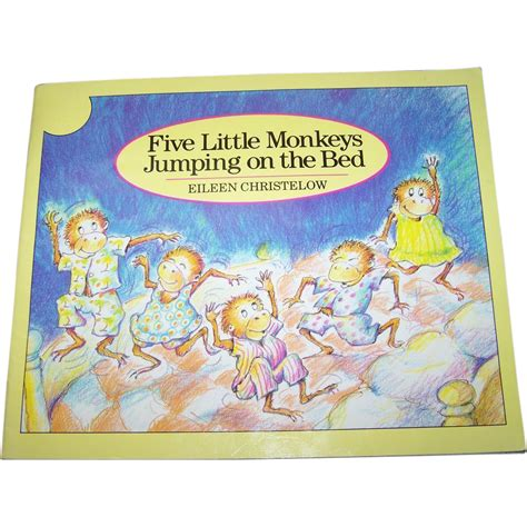 five little monkeys jumping on the bed book booklet soft bound book quot five little monkeys jumping on the bed quot from victoriasjems