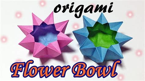 easy origami bowl easy and beautiful origami bowl how to make a paper
