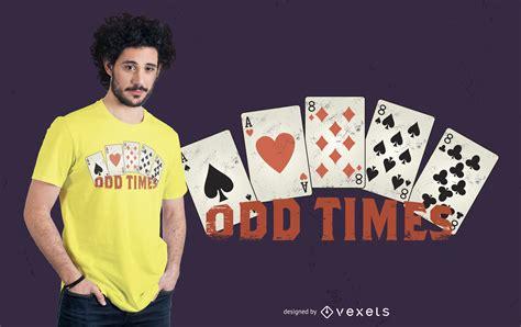 odd times  shirt design vector
