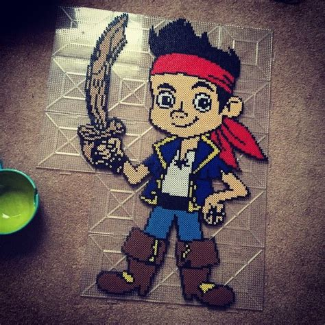 pattern jake pirates 75 best images about chris on pinterest perler bead