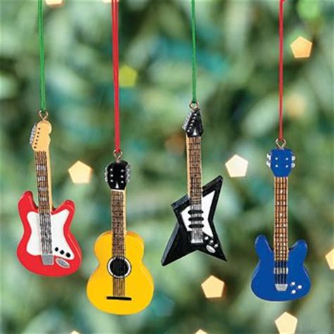 guitar christmas tree ornaments