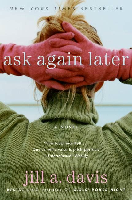 Book Review By A Davis by Book Review Ask Again Later By A Davis Lawlor