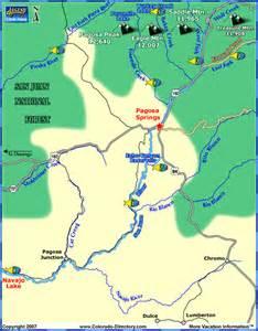 san juan river fishing map colorado vacation directory