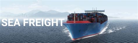 best international sea freight services container transport