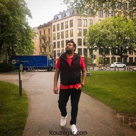 biography mohammad alizadeh محمد علیزاده در حال قدم زدن عکس