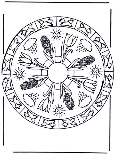 free coloring pages of fruhling