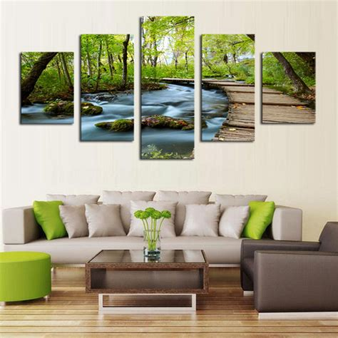 hd canvas print modern scenery animal wall