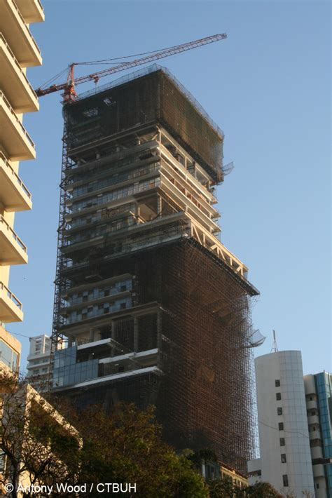residence antilia  skyscraper center