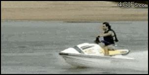 boat driving fails jet ski fail gif find share on giphy