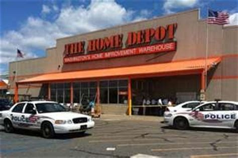 officer breaking news home depot calls